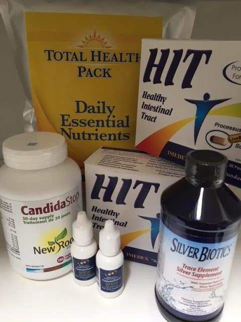 Total Health Pack Candida Support