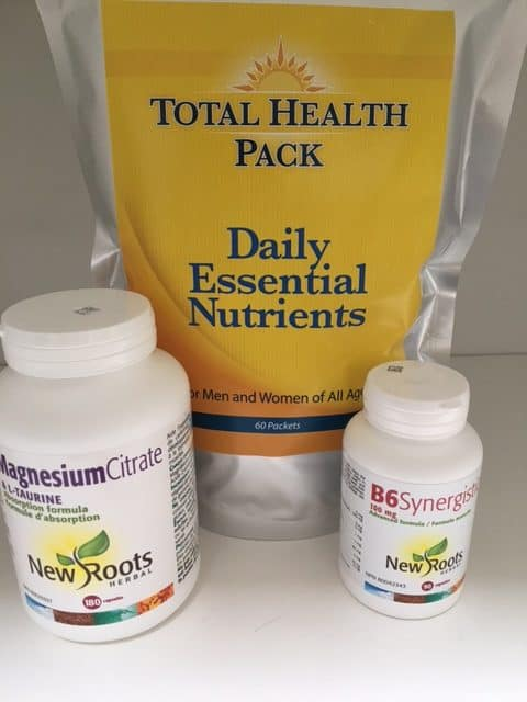total health pack with B6