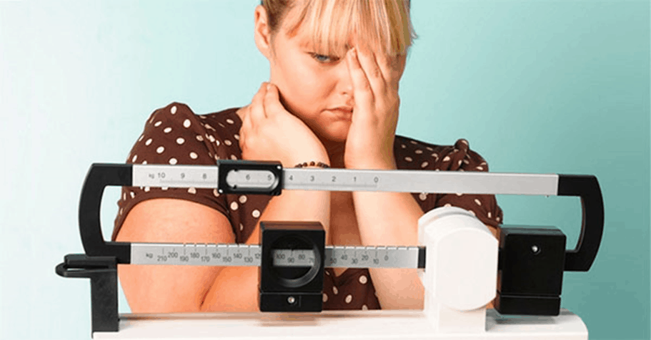 list of items not allowing you to lose weight