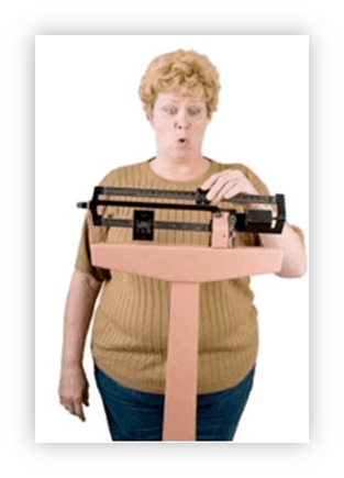 Difficulty losing weight