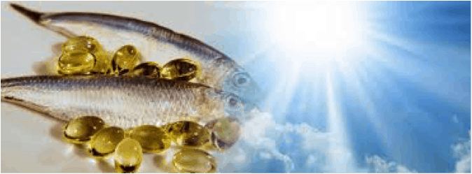 Vitamin D and Omega 3 for Some Low Serotonin Symptoms