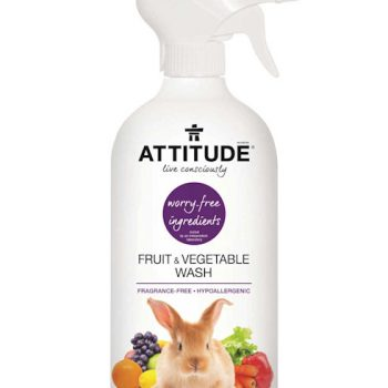 attitude fruit and vegetable wash