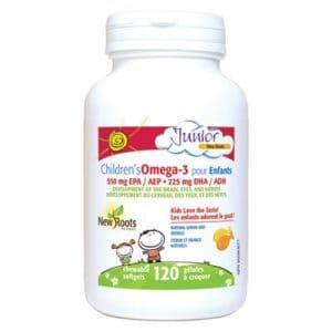 Children's Omega-3 120 Chewable Lemon Softgels