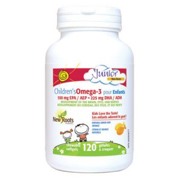 Children's Omega-3 120 Chewable Lemon Softgels