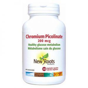 Chromium Picolinate 200mcg 100 capsules
