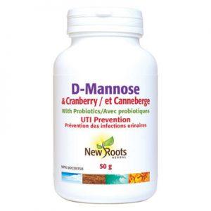 D-Mannose Plus Cranberry powder treatment of UTI's