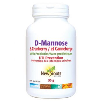D-Mannose Plus Cranberry powder treatment of UTI's