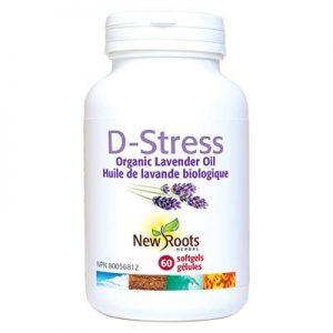 D-Stress Lavender Oil 60 caps