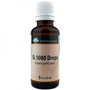 Vitamin D3 Liquid Drops 1000 IU's 30 ml