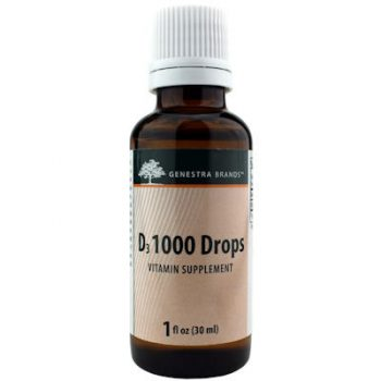 Vitamin D3 Liquid Drops 1000 IU's 30 ml