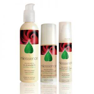 Miessence Organic Rejuvenating Skin Essentials 3 Pack dry mature skin
