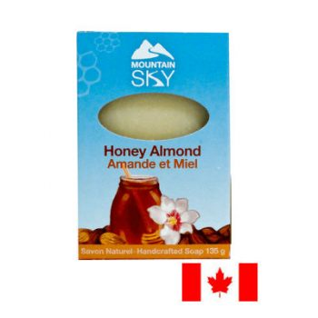 Mountain Sky Bar Soap 135g Honey Almond