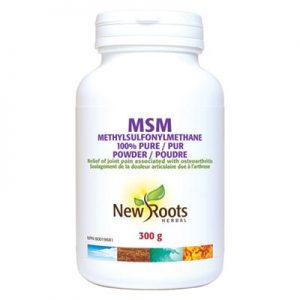 MSM Powder 300g joint health