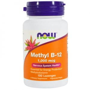 Vitamin B12 sublingual lozenges