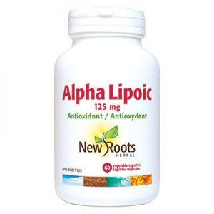 Alpha Lipoic Acid 125 mg 60 caps liver health
