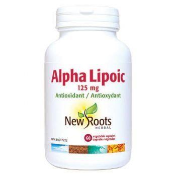 Alpha Lipoic Acid 125 mg 60 caps liver health