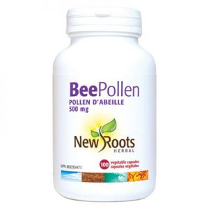 Bee Pollen Capsules energy adrenal support