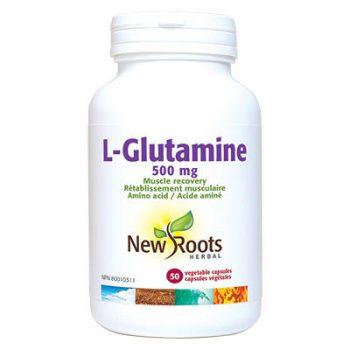 L-Glutamine capsules amino acids