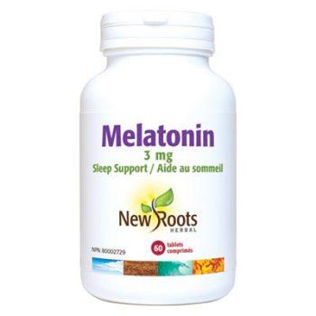 Melatonin 3mg 60 tablets natural sleep aid