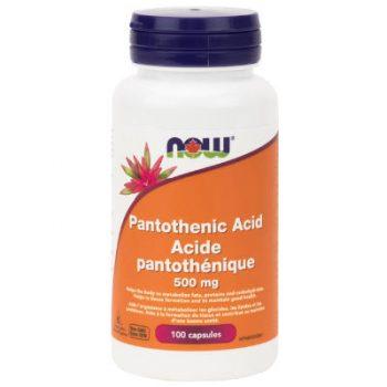 Pantothenic Acid capsules