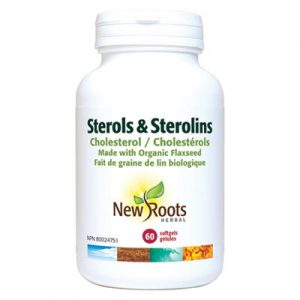 Sterols sterolins Cholesterol 60 capsules lower cholesterol