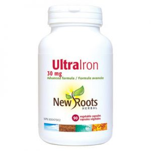 Ultra Iron 30mg 90 capsules iron deficiency