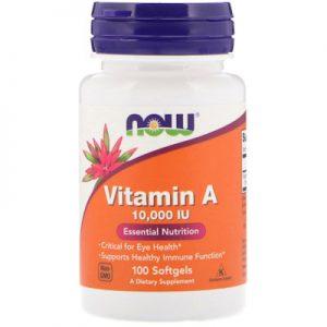 vitamin A immune support eye health